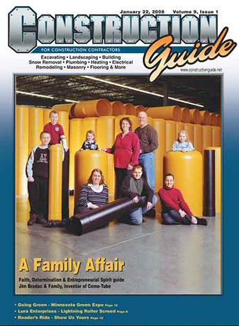 A Family Affair  Faith, Determination & Entreprenueurial Spirit Guides Jim Bradac and Family
